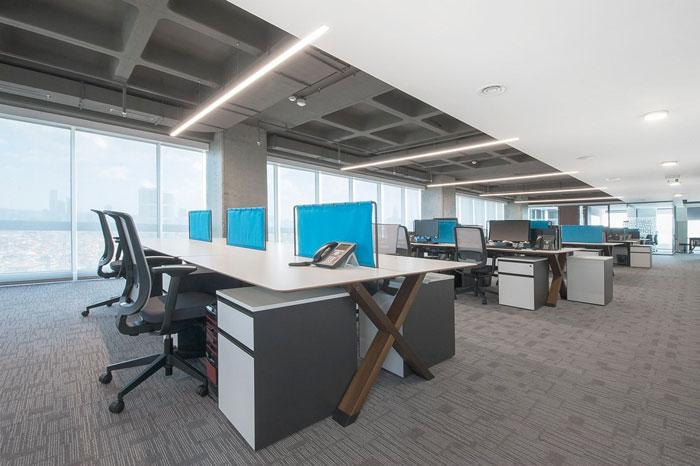 金融公司办公楼装修设计案例