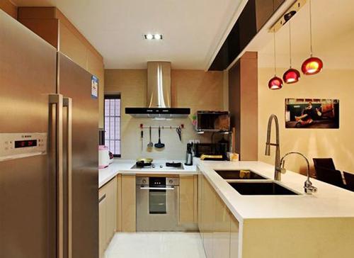开放式厨房人性化效果图