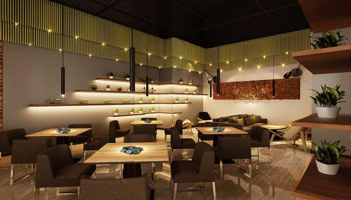 现代风格咖啡厅装修设计案例