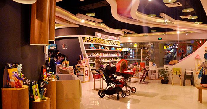 婴童店铺装修设计案例