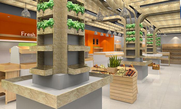200平方米水果店装修设计案例