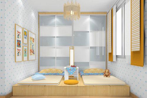 有两个孩子的家庭,儿童房应该怎样设计合理?