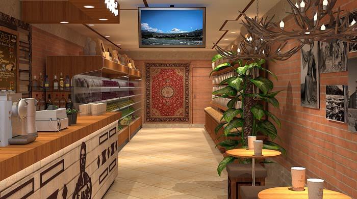 鲜农水果店装修设计案例