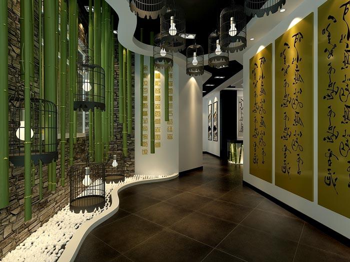 中式风格茶楼茶室装修注意事项
