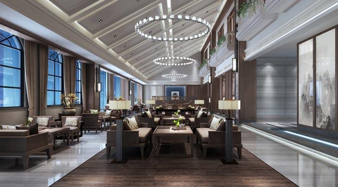 混搭风格茶楼茶室应该如何设计