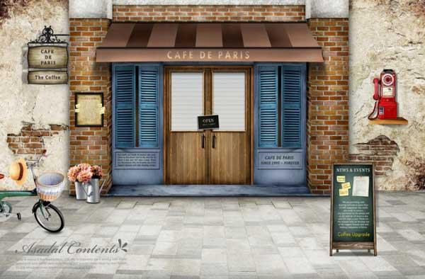 人文风格咖啡厅