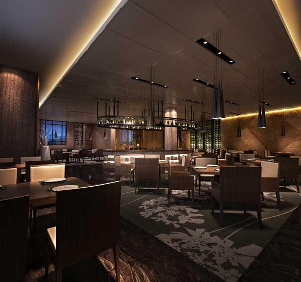 现代简约风格咖啡厅