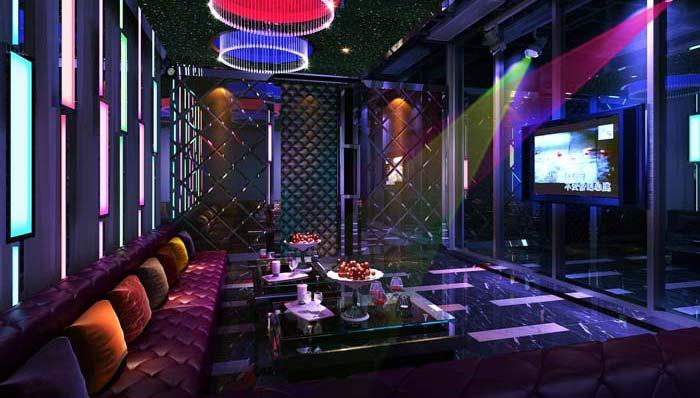 青岛酒吧装修设计案例