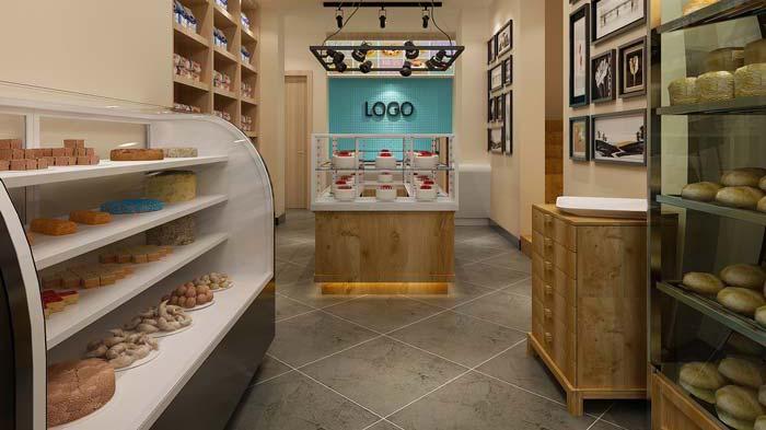 混搭风格蛋糕店空间装修设计案例
