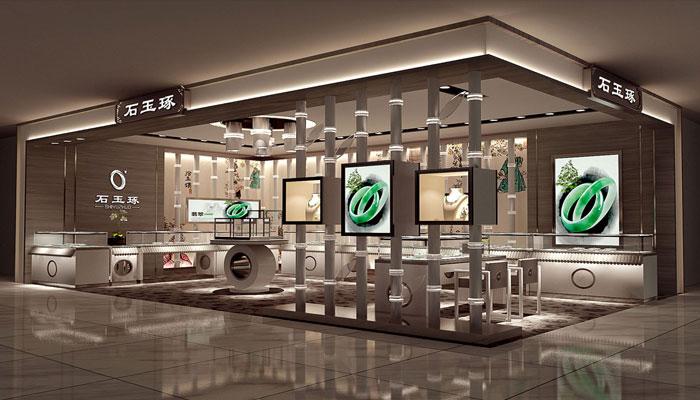 珠宝首饰店展厅如何装修设计