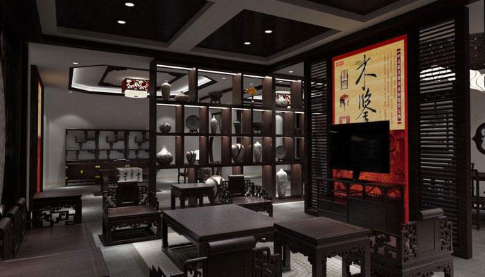 中式家居展厅如何装修设计