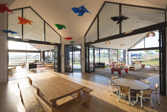 黄岛国际早教培训中心装修案例