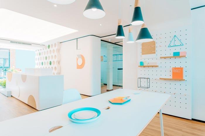 平度小型早教中心工修设计案例