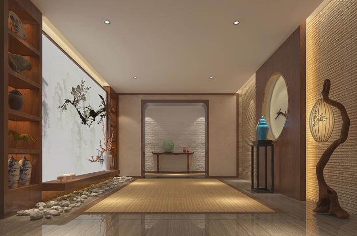 新中式精品酒店装修设计案例