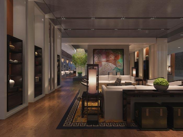 新中式酒店装修设计风格