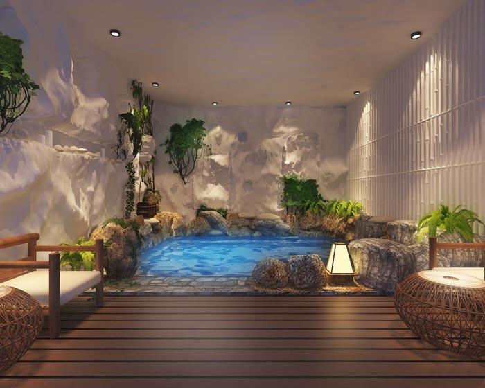 温泉度假酒店装修设计案例