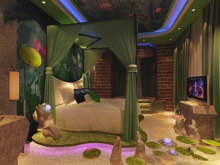 主题情侣酒店装修设计案例