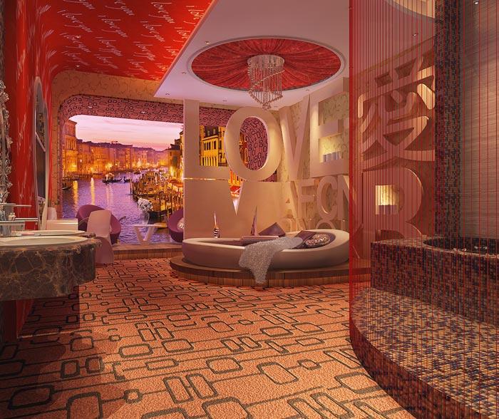 情人酒店装修设计案例