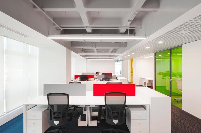 服饰公司办公室装修设计案例
