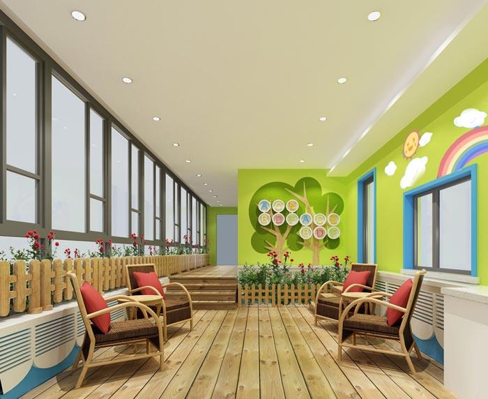 青岛幼儿园装修设计公司案例