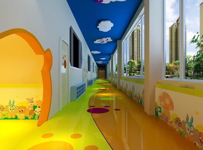 幼儿教育机构装修设计案例