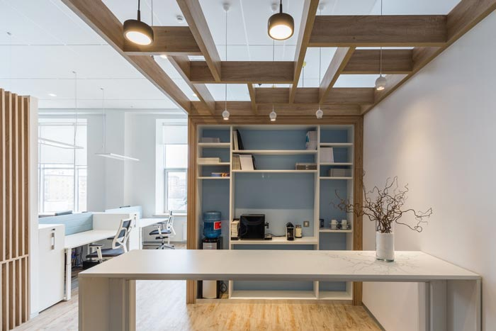 青岛工艺品公司办公室装修案例
