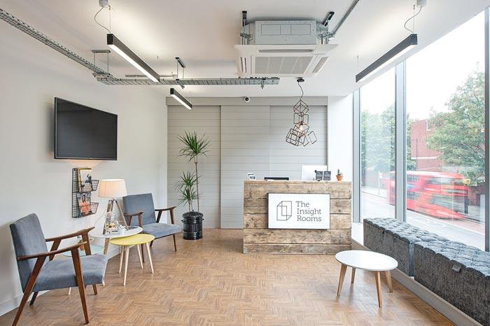 外贸公司办公室简易装修设计案例