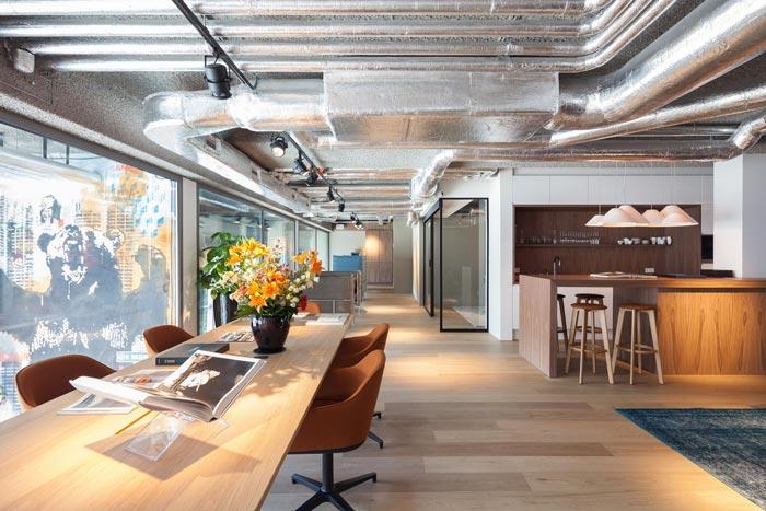 房地产开发商办公室装修设计案例