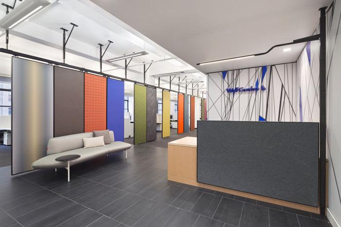服装公司办公室装修设计案例