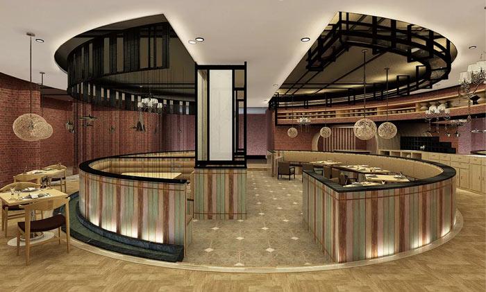 漫时光特色餐厅装修设计效果图