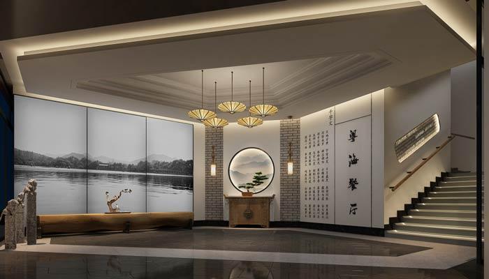 特色中餐厅装修设计效果图