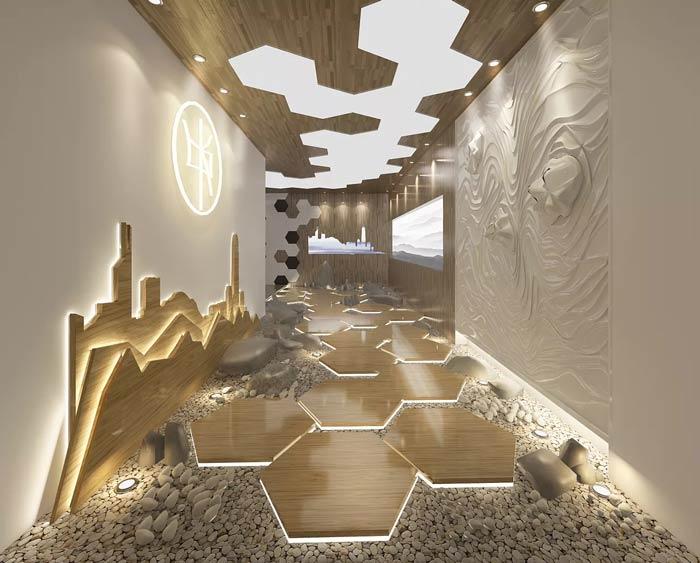 特色港式茶餐厅装修设计效果图