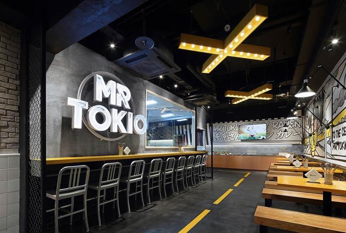 日式快餐店装修设计效果图