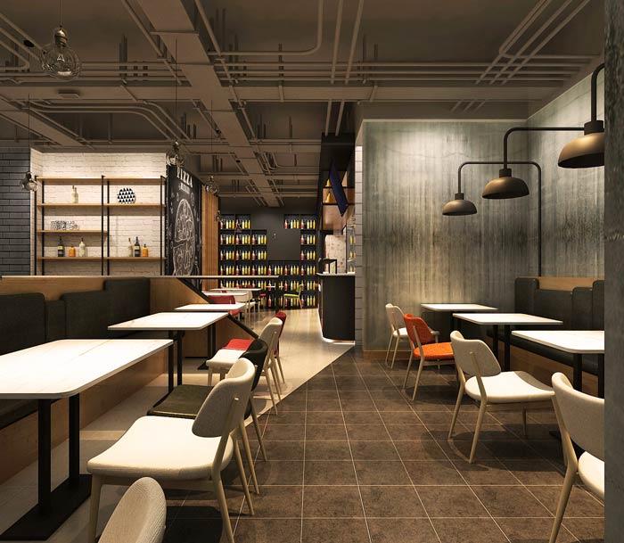 主题西餐厅装修设计效果图