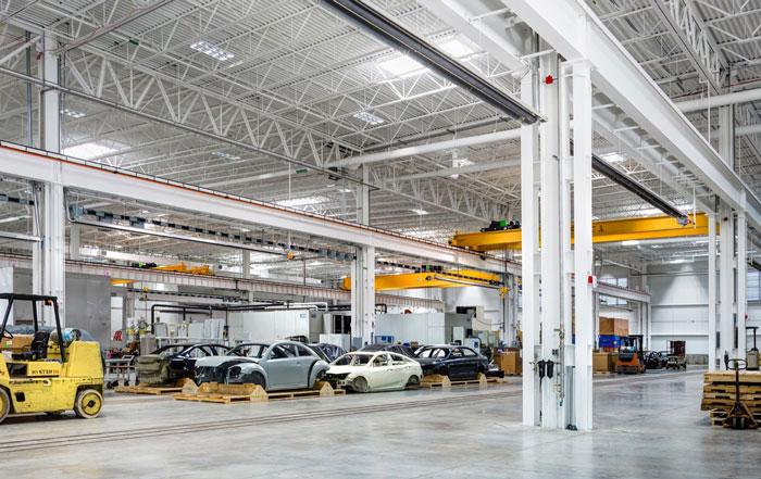 国外汽车工厂设计效果图