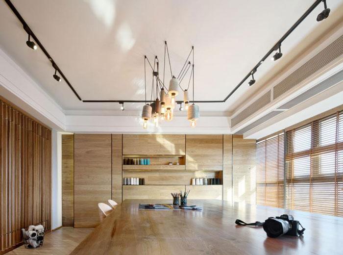 80平方办公室装饰效果图