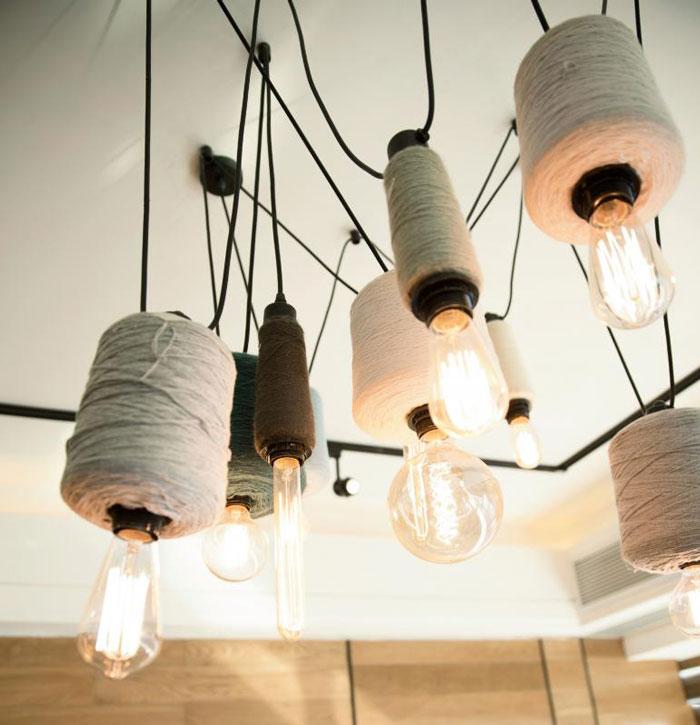 80平方办公室灯光装修设计效果图