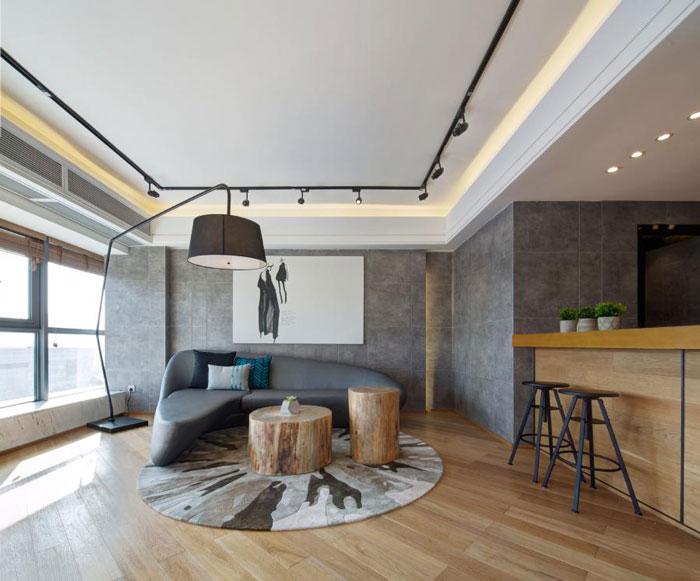 80平方办公室休息区装修设计效果图