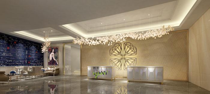 爱情主题酒店装修设计效果图