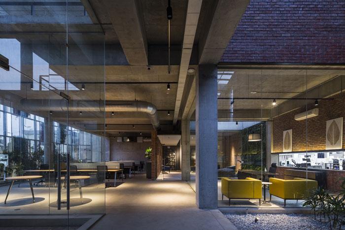 4000平工厂办公室装修设计效果图