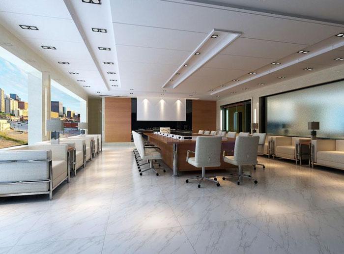 厂房办公会议室装修设计效果图