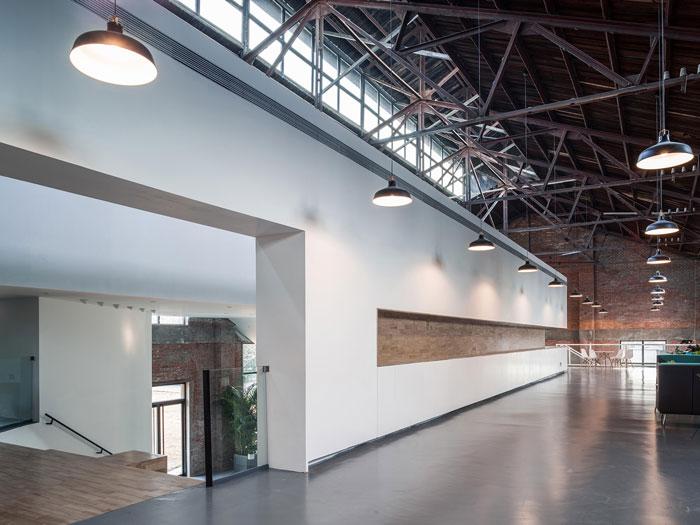 厂房改造办公室二楼装修设计效果图