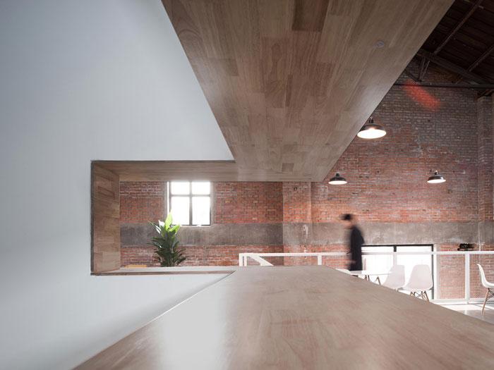 厂房改造办公室二楼接待装修设计效果图