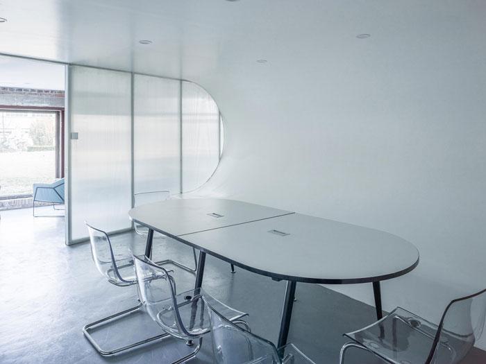 厂房改造办公室交流区装修设计效果图