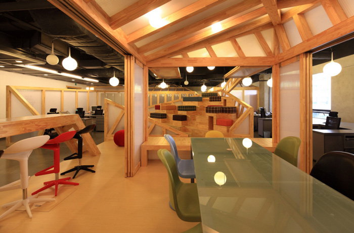 家具厂办公室办公区装修设计方案效果图